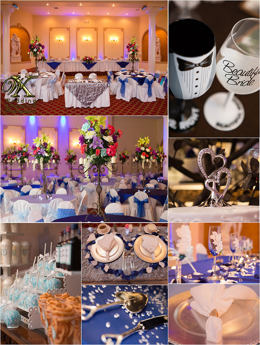 wedding at Monte Carlo Hall