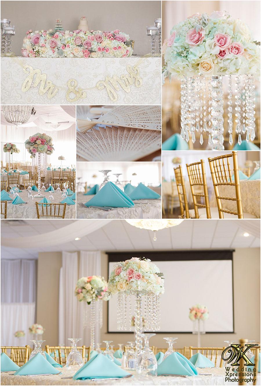 wedding details at Grace Gardens