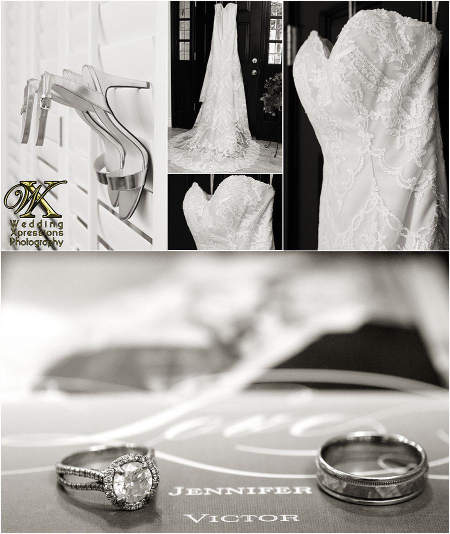 bride details, wedding dress, shoes