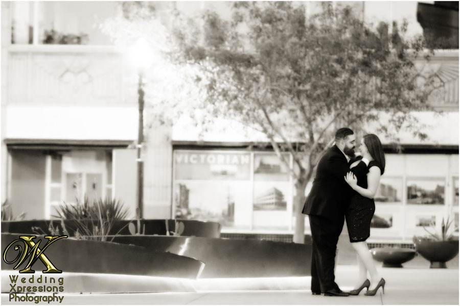 downtown El Paso engagement photography