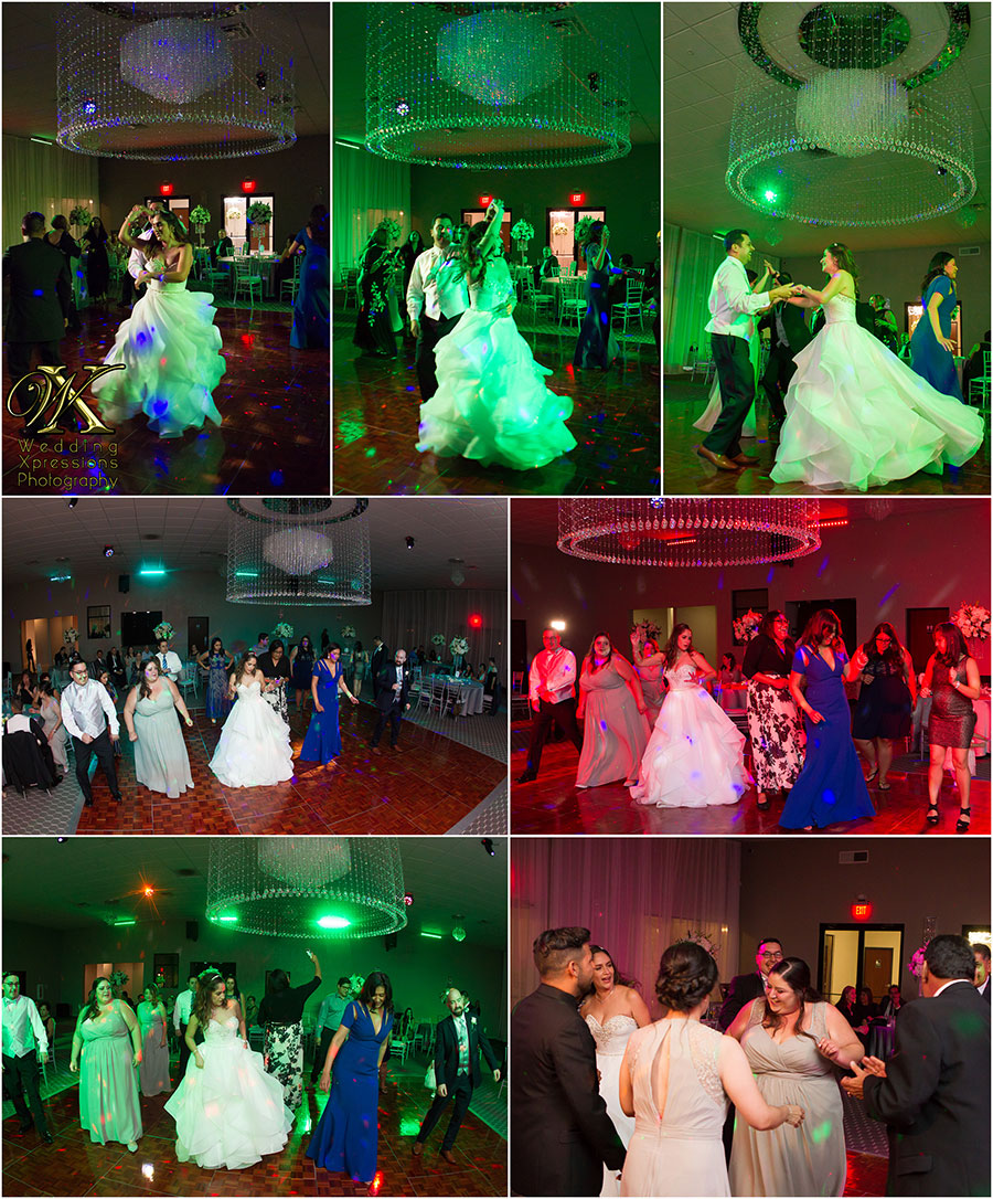 wedding reception at Grace Gardens