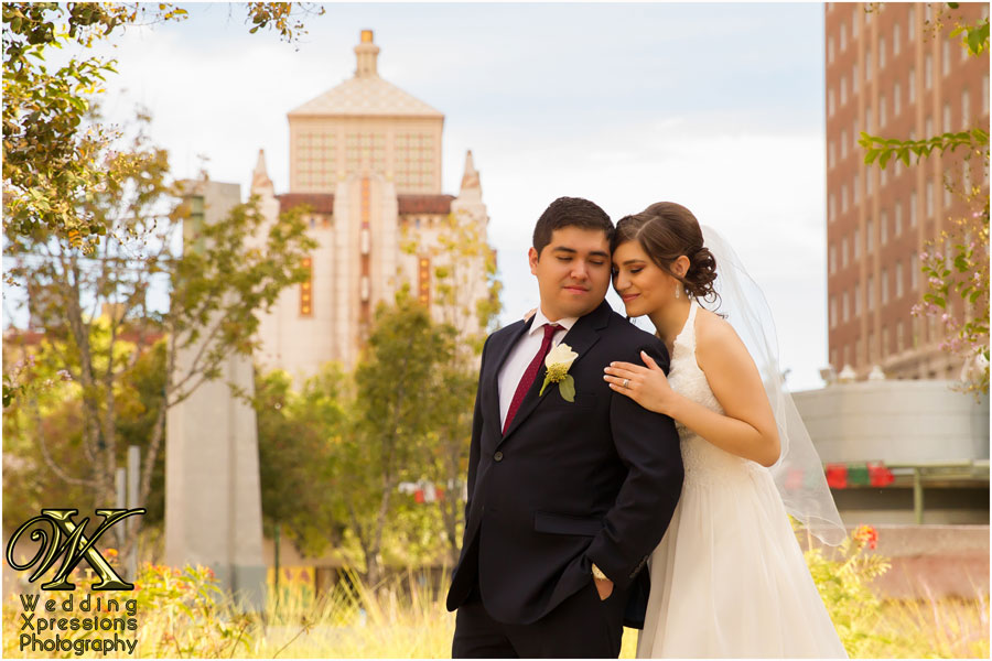 El Paso city wedding photography