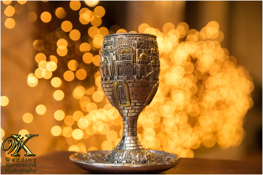 photograph of jewish wine cup