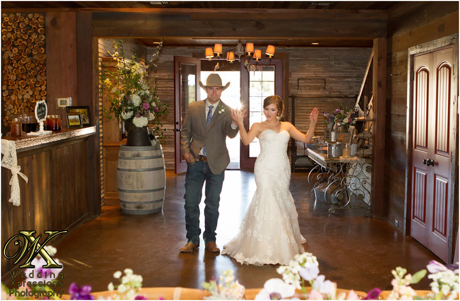 introduction of couple at Thistle Springs Ranch