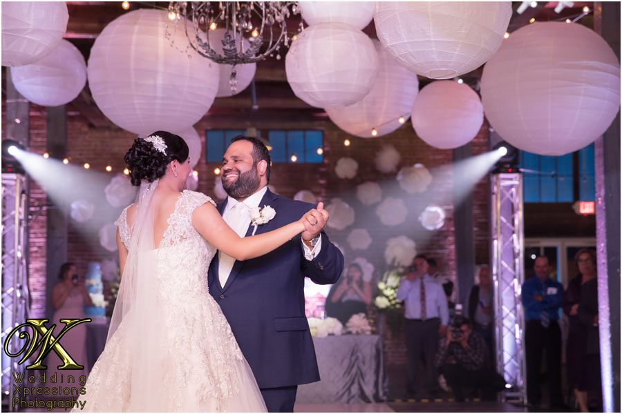 first dance at Epic Railyard in El Paso