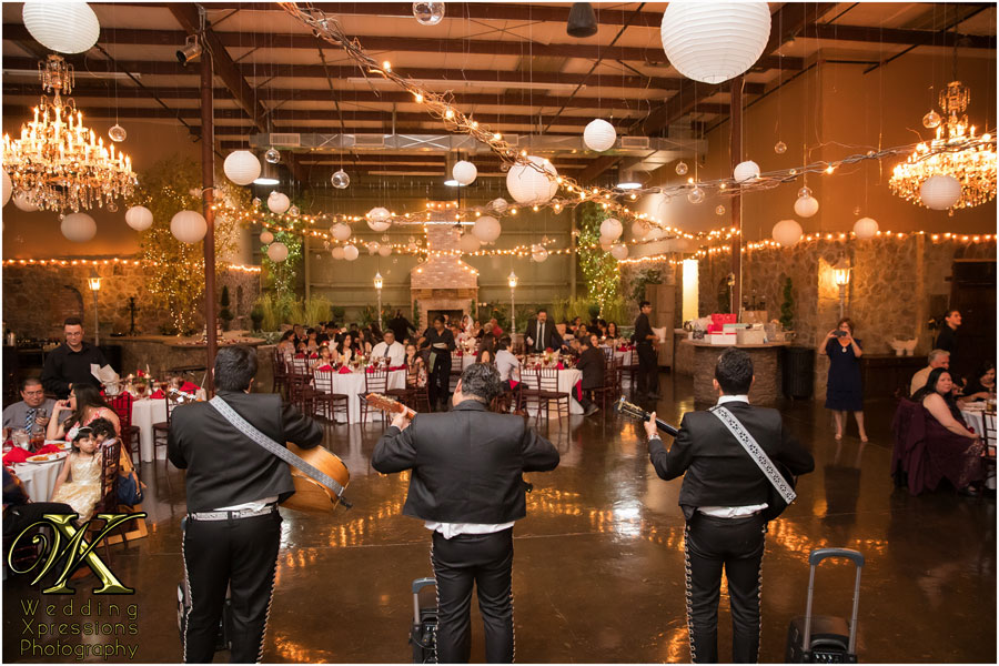 mariachi at 150 Sunset in El Paso wedding