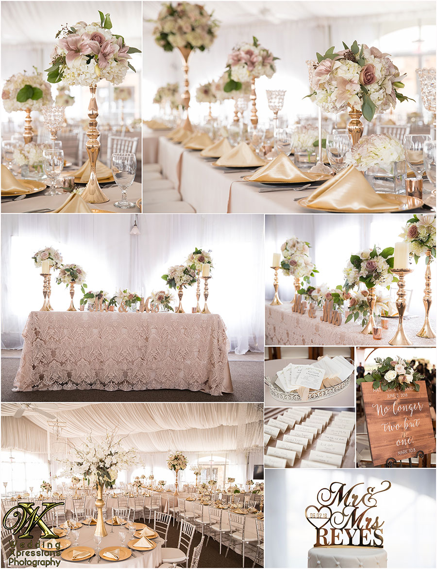wedding details at Grace Gardens by Wedding Xpressions Photography