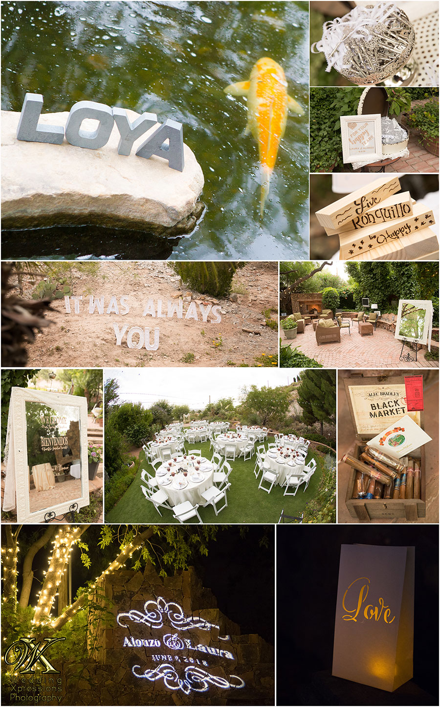 Wedding Xpressions at The Secret Garden in El Paso