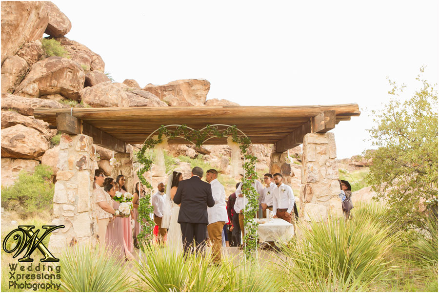 wedding at Hueco Tanks State Park