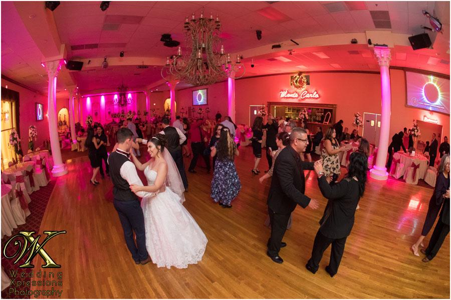 wedding at Monte Carlo Hall
