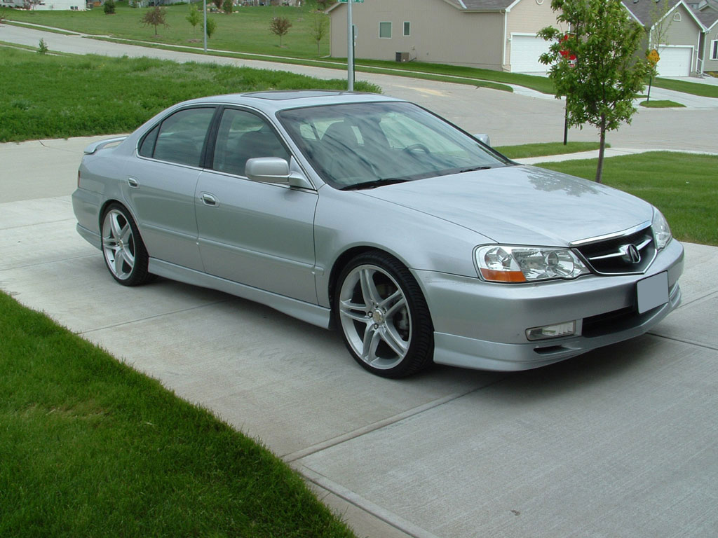2003 Acura Tl Rims White