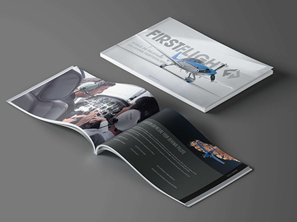 Création brochure FirstFlight