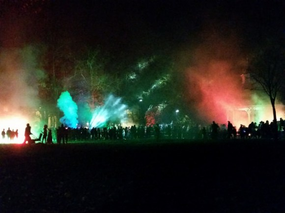 Halloween in Chapelfield Gardens