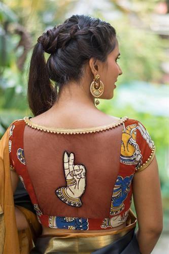 blouse design 2019