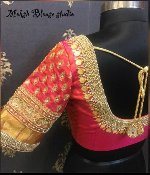 blouse design in chennai