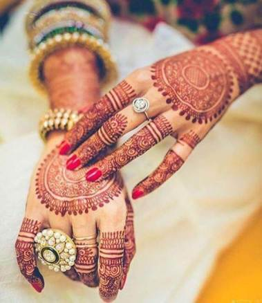mehendi for full hands