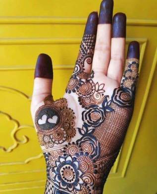 Arabic Bridal Mehndi Design 2020