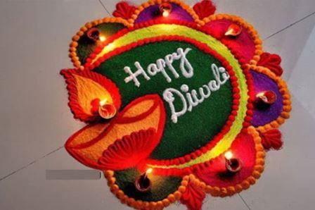 diwali rangoli designs easy