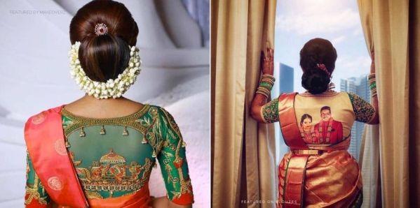 bridal blouse designs 2020