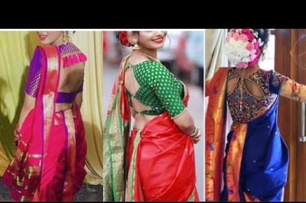 paithani blouse designs photo