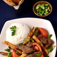 Lomo Saltado (Beef and French Fry Stir Fry)