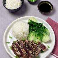 Sesame Ahi Tuna Steaks