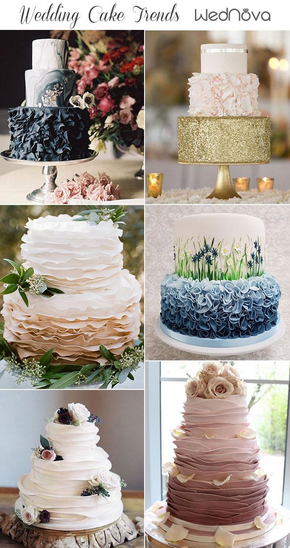 2019 Wedding Cake Trends To Inspire Your Big Day Wednova