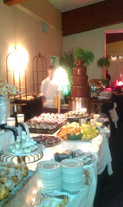 650 Guests enjoy We Do Fondue Chocolate Fountain Italian American Community Center