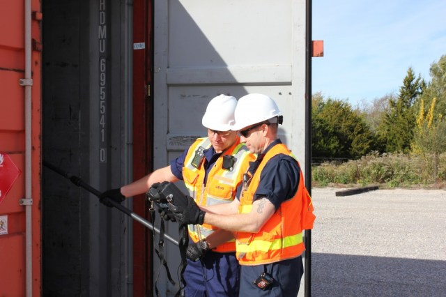 Container inspection