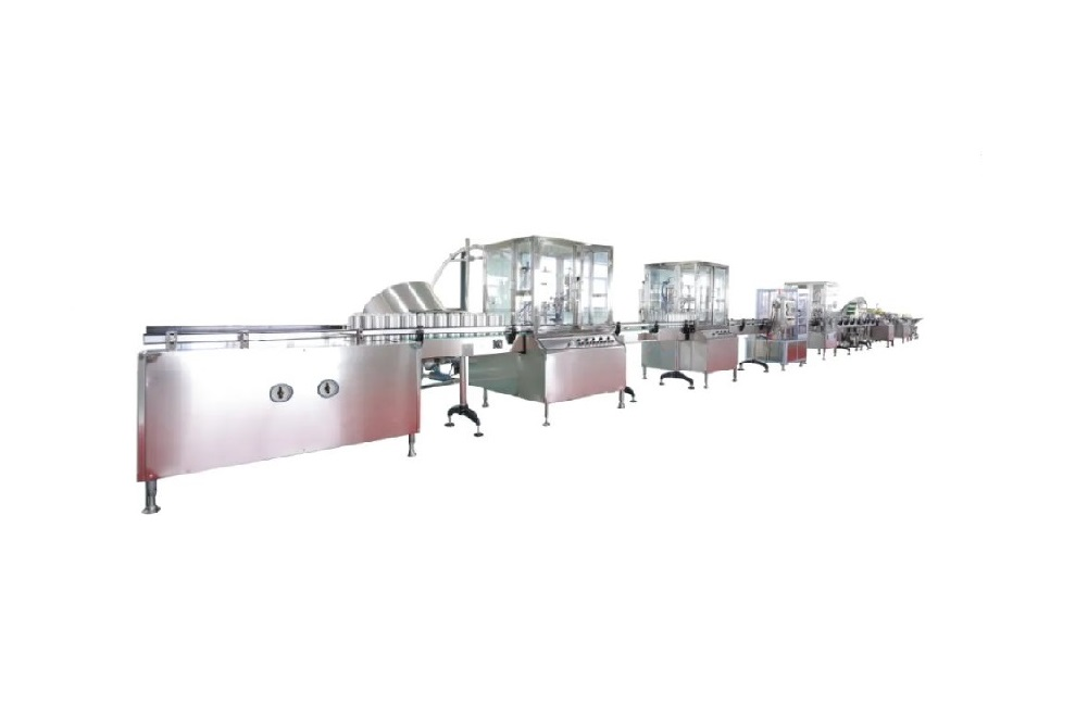 Fully Automatic Aerosol Filling and Sealing Spray Production Line