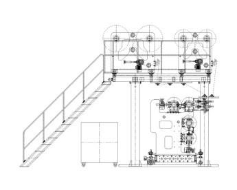 PVC SPC Flooring Extrusion Line 8