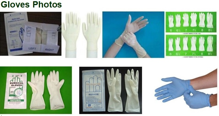 Disposable Medical Latex / Nitrile Hand Gloves Production Line 7