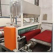 PVC Double Color Coil Floor Mat Production Line 6