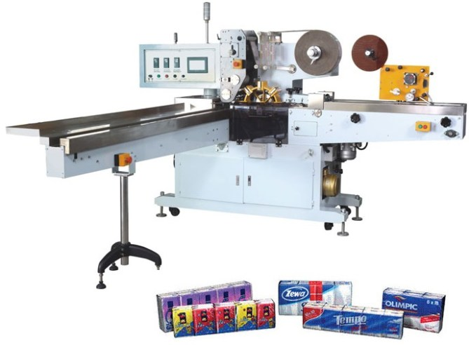Pocket Facial Tissue Paper Folding and Packing Production Line 3