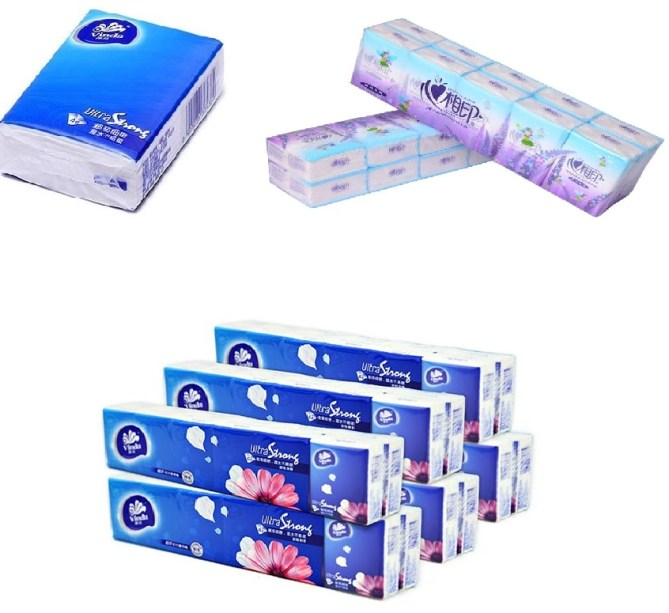 Pocket Facial Tissue Paper Folding and Packing Production Line 6