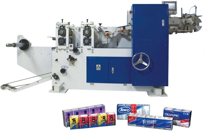 Pocket Facial Tissue Paper Folding and Packing Production Line 1