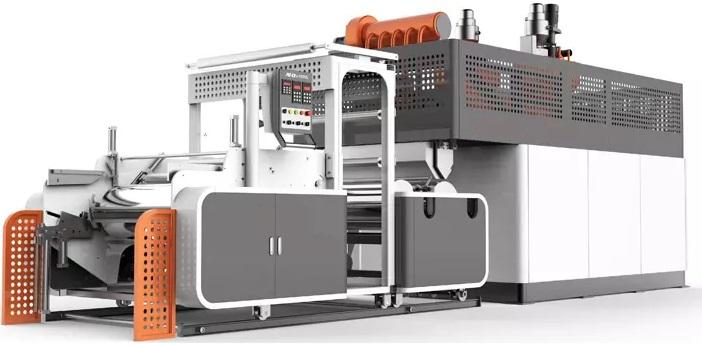 LLDPE Polyethylene Stretch Film Production Line 1