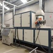 PVC Double Color Coil Floor Mat Production Line 7