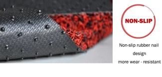 PVC Double Color Coil Floor Mat Production Line 16
