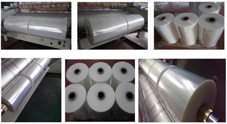LLDPE Polyethylene Stretch Film Production Line 3
