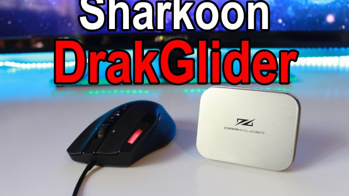Sharkoon DarkGlider Mouse Review