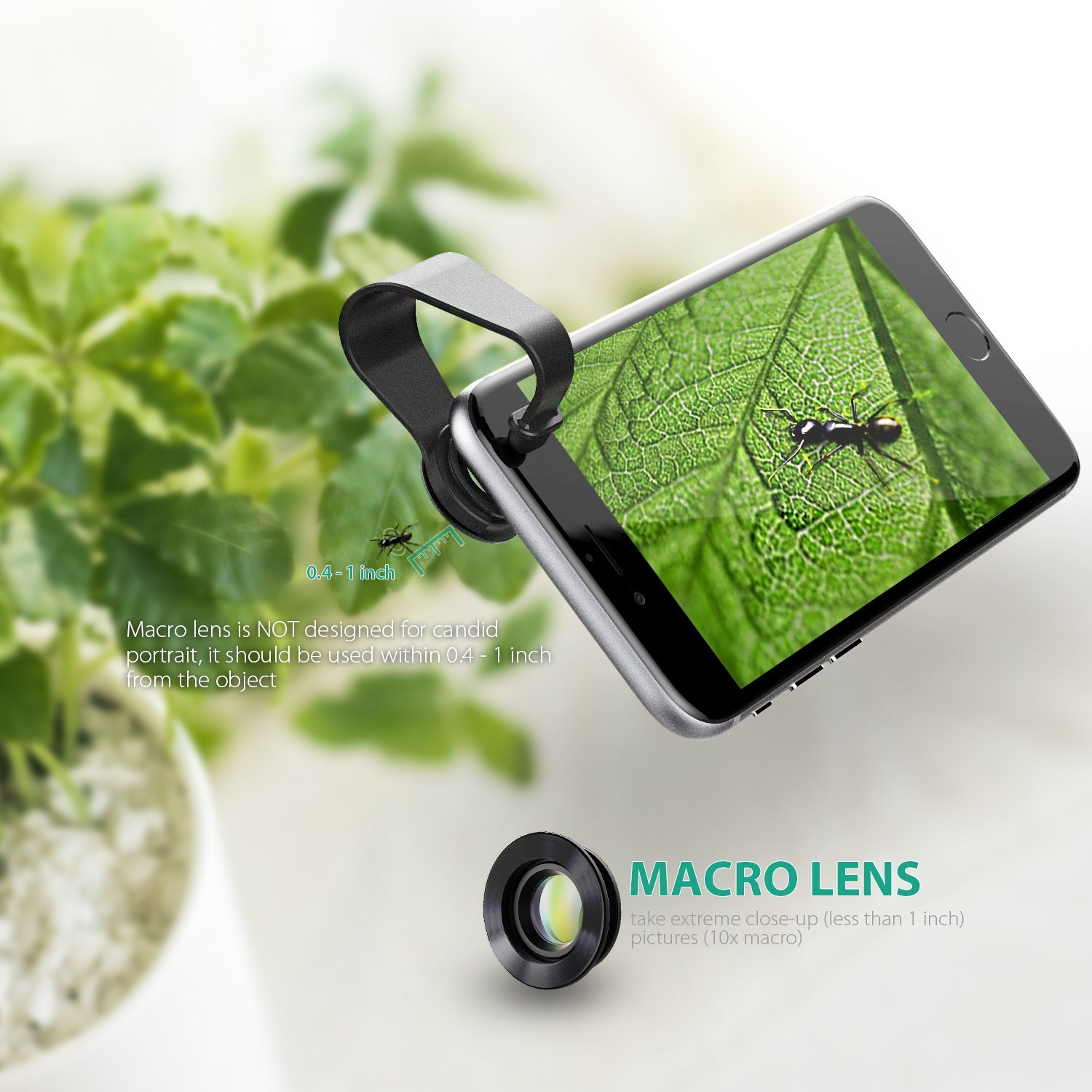 Aukey 3 in 1 micro lens