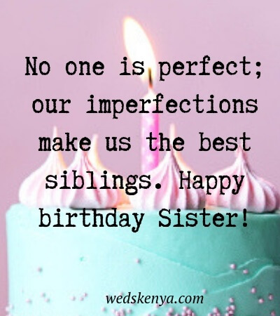 80 Happy Birthday Wishes For Sister Quotes Sister Birthday Messages