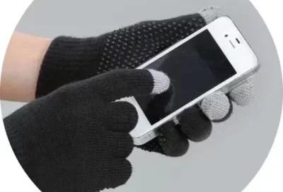 magic touch rijhandschoenen zwart