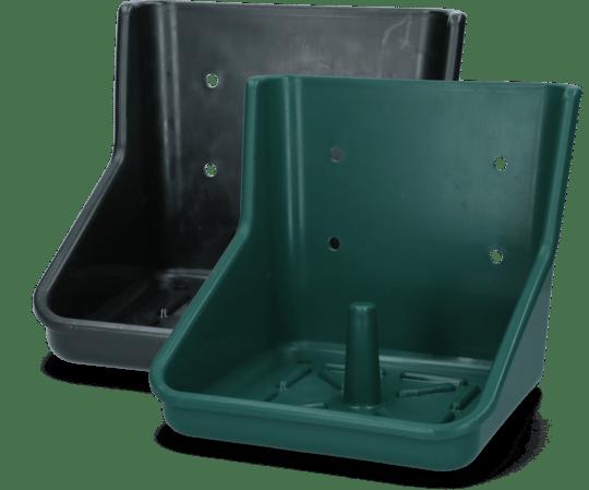 liksteenhouder groen en zwart