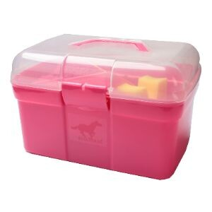 Red Horse poetskoffer rijk gevuld hot pink