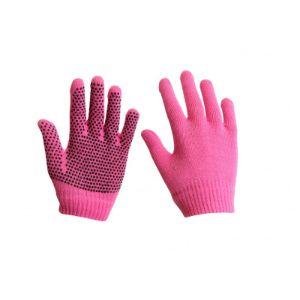 magic gloves paardrij handschoenen red horse roze