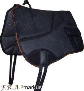 F.R.A.® markus Rijsjabrak Barebackpad Zwart