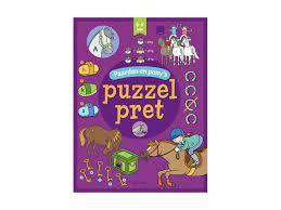 Deltas Paarden en pony's – Puzzelpret 6-8 jaar puzzelboek