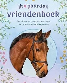 Deltas Vriendenboek Ik hou van paarden